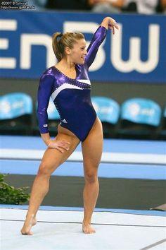 Gymnastics World, Sport Gymnastics, Artistic Gymnastics, Olympic Gymnastics, Gymnastics Leotards, Sporty Girls, Gym Girls, Alicia Sacramone, Gymnastics Flexibility