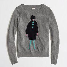 J.Crew Factory - Factory warmspun intarsia french lady sweater