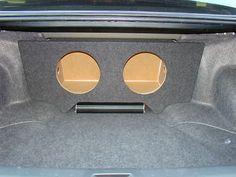 Speaker Sub Enclosures: 2008-2012 Honda Accord 2-12 Custom Sub Box Subwoofer Enclosure By Zenclosures BUY IT NOW ONLY: $119.99