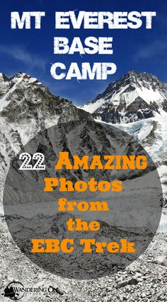 22 Everest Base Camp Photos That Will Make You Want To Go Trekking in Nepal!. Pin It - Everest Base Camp 22 Amazing Photos #travel, #blog