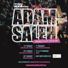 TICKETS ARE NOWWWWWW OUT IN THE MIDDLE EASTTTTT!! ABU DHABI, DOHA, MUSCAT, BAHRAIN AND DUBAI WITH DEMI LOVATO AND CHRIS BROWNN!!! Get your tickets in the link on my bio!!!! CANT FREAKINGGGG WAITTT!! adamsalehworldwide.com :) much LOVEEEEE:)
