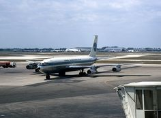 File:Boeing Pan Am - Wikimedia Commons Boeing 707, Boeing Aircraft, Old Planes, Pan Am, Civil Aviation, Transportation, Wikimedia Commons, American, World
