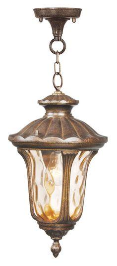 Livex Lighting Oxford Moroccan Gold Chain Lantern 7654-50