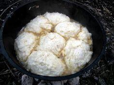 Dutch Oven Chicken and Dumplings