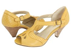 I see these paired with a cute vintage inspired dress or a cute top and cuffed jeans.
