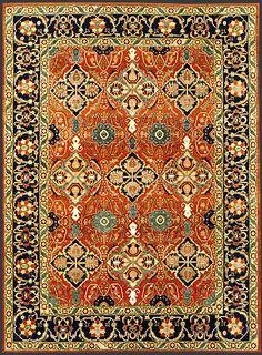 Afghan Tabriz Oriental Rug #39237