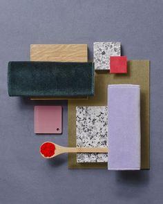 Work Design. Color pattern palette