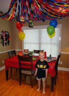 Lego Ninjago Themed Birthday Party! Ninjago Felt doll pattern