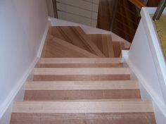 Flooring For Stairs, Cork Flooring, Solid Wood, Home Decor, Decoration Home, Room Decor, Interior Design, Home Interiors, Interior Decorating