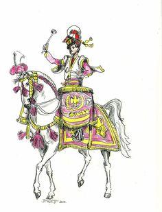 Jean-pierre Negre - Polish Lancer Regiment Timbalier 1813 by Stcyr74 on DeviantArt