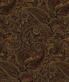 Pindler & Pindler Abigton Spice Flower Patterns, Pattern Flower, Haberdashery, Green And Gold, Interior Architecture, Moroccan, Upholstery Fabrics, Color Schemes, Paisley