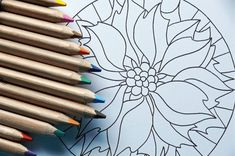 40 illustrated mandala drawing ideas and inspiration. Learn how you can draw mandalas step by step. This tutorial is perfect for all art enthusiasts. Mandala Art, Mandalas Painting, Mandalas Drawing, Mandala Motif, Art Journal Pages, Art Journals, Adult Coloring Pages, Coloring Books, Drawing Sketches