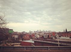 decrepit and rustle cities inspire me to write. i blame noir.  #cityscape #travel #baltimore