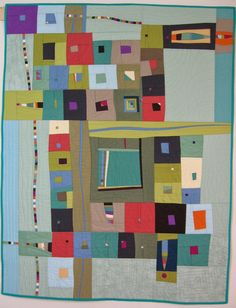 "Pam Beal Suddenly 35"" x 45"" American Quilter's Society Award Winner 2013"