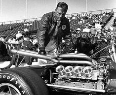 Dan Gurney at the Indianapolis 500 with an AAR Eagle Indy Car Racing, Indy Cars, Drag Racing, Dan Gurney, Race Engines, Audi Sport, Drag Cars, Lamborghini Gallardo, Vintage Racing