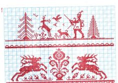 Cross Stitch and Sampler Books for Sale - A Folio of Motifs and Complete Patterns in Folk Art Style - xstitches - Álbumes web de Picasa