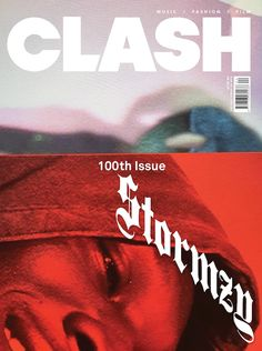 99a87b640 Stormzy is the second face of Clash 100 Two Faces