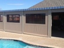 ClearView weather curtains - Glaves residential - traditional ...