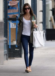 Olivia Palermo looking casual