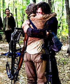 I waited for a year and a half to see this reunion. So not disappointed. #thewalkingdead #carolanddaryl