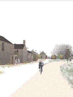 Doorstep Green in Lincolnshire - nominee in the housing design awards