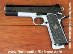 Custom paint kimber gun picture. Firearm picture. Visit Rational Self Defense for more knife pictures, gun pictures, reviews...