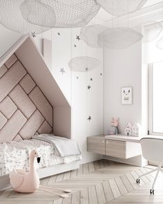 Amazing Kids bedroom layouts - the uber hip kiddies are courses at good taste's . ♡ Amazing Kids bedroom layouts - the uber hip kiddies are courses at good taste's Baths. Colorful, trendy, and creative, check out 18 kids' rooms that a. Small Room Bedroom, Modern Bedroom, Girls Bedroom, Small Rooms, Master Bedroom, Childs Bedroom, Trendy Bedroom, White Bedrooms, Luxury Kids Bedroom