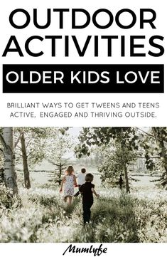 10 genuinely fun outdoor activities for older kids Outdoor Activities For Adults, Outdoor Games For Kids, Scout Activities, Outdoor Activities For Kids, Outdoor Learning, Kids Learning Activities, Adventure Activities, Camping Activities, Adventure Camp