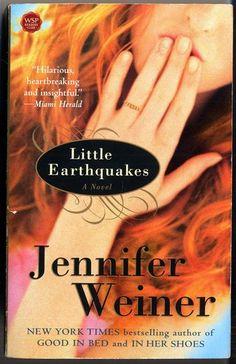 Little Earthquakes: A Novel (Washington Square Press): Jennifer Weiner: 9780743470100: Amazon.com: Books