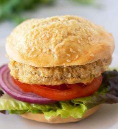 Chickpea Burgers (Gluten Free, Dairy Free)