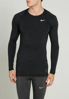 Nike Performance Undertröja - black/dark grey/white - Zalando.se
