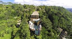 The Hanging Gardens in Ubud, Bali | Now Gaze At The 10 Most Amazing Hotel Pools In The World