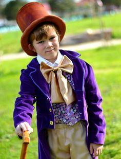 Willy Wonka Charlie and the Chocolate by DesignStitchWardrobe