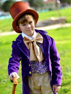 Willy Wonka Costume - Charlie et le costume de la chocolaterie