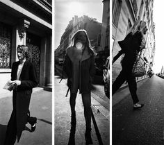 First streetsyle triptych with a new panoramic format :...