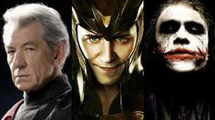 Three of the the best villains EVER
