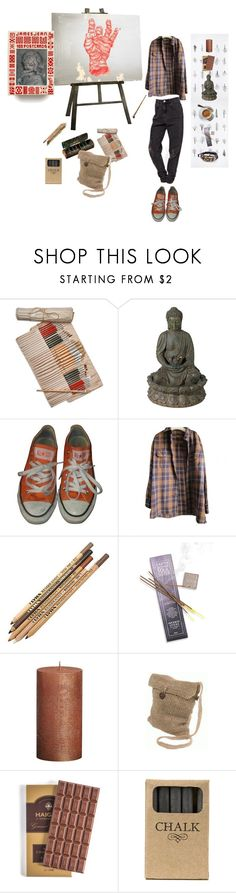 """""""Work"""" by vilcsi888 on Polyvore featuring Universal Lighting and Decor, James Jeans, Converse, Timberland, TEN and Jayson Home"""