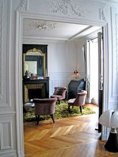 Pinterest le catalogue d 39 id es for Deco sejour haussmannien