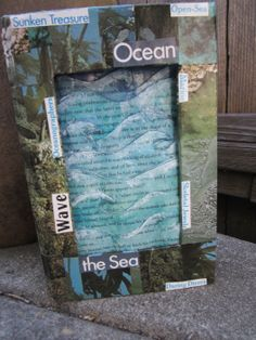 """Another view of the first place winner in the Adult division for our 2014 UNBOUND Book Art & Craft Contest - Audrey Larsen's """"Dive Into a Good Book!""""."""
