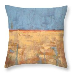 Tranquility Of Wheat Field Throw Pillow for Sale by Vesna Antic