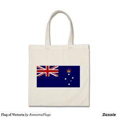 Flag of Victoria Budget Tote Bag