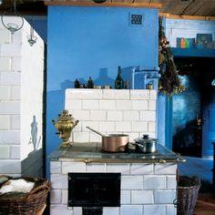 Kuchnia kaflowa od zawsze była najważniejszą częścią domu.