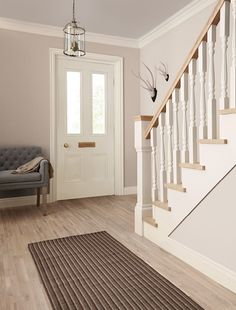 Mackintosh   Matt   Hall Stairs | Crown Paints