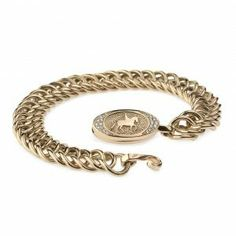 New 14k red gold bracelet with charm from the new Sitana collection from Helgstrand Denmark