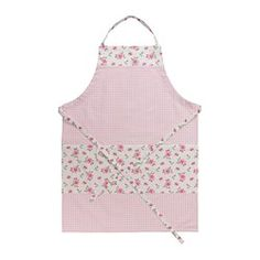 "EVALILL apron, rose Length: 38 "" Length: 97 cm ~ $8 ~ apron to match the towels ❤"