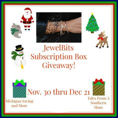 JewelBits Subscription Box Giveaway ~ Amy and Aron's Real Life Reviews