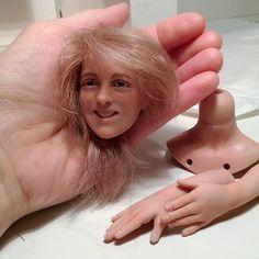 #doll #dollstagram #artdoll #polymerclay #clay #process #куклыручнойработы #handmade #portraitdoll #instadoll #подвижнаякукла #полимернаяглина