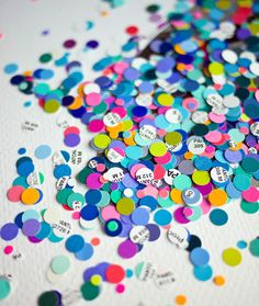 pantone confetti