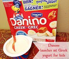 Danone Launches 1st Greek Yogurt for Kids – Danino Greek!