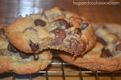 EXTRA THICK CHOCOLATE CHIP COOKIES!!!